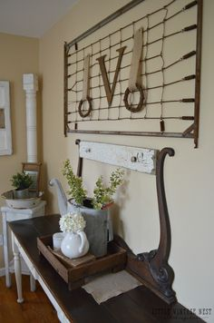 How to Decorate with Vintage Decor Vintage Crib Spring