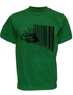 SODAtees Bar Code Car Crash consumer racing Men's T-SHIRT graphic tee - Green - Small SODAtees http://www.amazon.com/dp/B00XT0ATSG/ref=cm_sw_r_pi_dp_8elwvb02Z8Z60