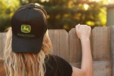 John Deere HATS ▷ John Deere gifts for men - John Deere caps for sale Country Outfits, Country Girls, Country Music, Country Hats, Country Style, Country Living, John Deere Hats, Everything Country, Country Strong