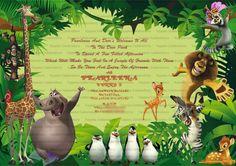 Madagascar Invite