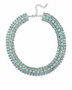 Turquoise sun burst necklace