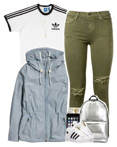 """""""No. 637"""" by dessboo ❤ liked on Polyvore featuring adidas, H&M, Current/Elliott, 3.1 Phillip Lim and Topshop"""