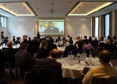 Während der #Charity-Veranstaltung von der @SuboticStiftung wurde Neven Subotic live per Skype zugeschaltet.