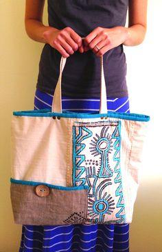 Bohemian Bag Diaper Bag Market Tote Beach Bag Boho by lalalubags