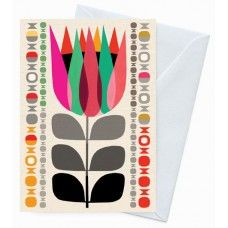Eco Friendly Greeting Card – Summer Protea Designed by Inaluxe for Earth Greetings.