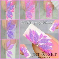 By Kamila very unique nail art, I love it! Fancy Nails Designs, Beautiful Nail Designs, Nail Art Designs, Gorgeous Nails, Pretty Nails, Fun Nails, Beauty Hacks Nails, Nail Art Hacks, Sugar Nails