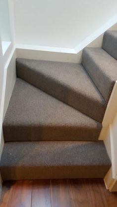 Grey Carpet Installation To Stairs | Stair Runners | Pinterest | Gray Carpet,  Carpet Installation And Gray