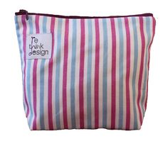 Zipper pouch/toiletry bag made of recycled by ReDesignandReCycled
