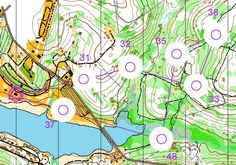 This orienteering activity is used to practice Identifying  attack points. The orienteering map has  blanked out  areas around the orienteering control this ensures practice of taking and following bearings.
