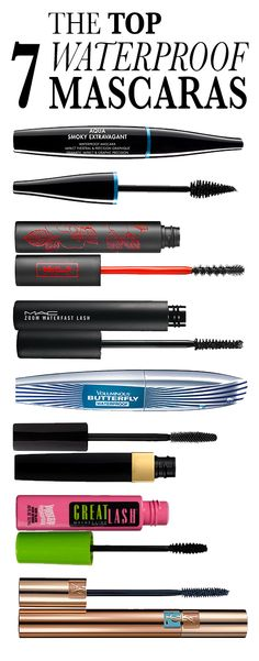 The Top 7 Best Waterproof Mascaras: You don't have to be a bride, a drama queen, or a synchronized swimmer to appreciate waterproof mascara. All it takes is one unfortunate raccoon-eyes incident. Here, our top budgeproof, sweatproof, and smudgeproof picks. Swipe 'em on for yourself. | allure.com