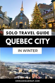 Old Quebec, Quebec City, Solo Travel Tips, Travel Guide, Saint Lawrence River, Canada Travel, Plan Your Trip, Travel Inspiration, Traveling By Yourself