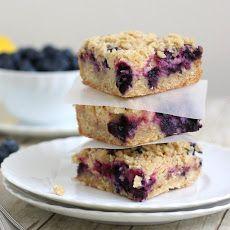 Blueberry-Streusel Bars with Lemon Cream Filling