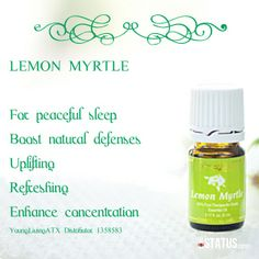 how to use myrtle essential oil
