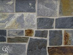 Premium natural stone products from Get Real Stone®. real stone produced entirely in the USA (North Carolina). Building Stone, Natural Building, Exterior Products, Stone Work, Natural Stones, Random, Collection, Casual