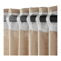 Double rideaux occultant ikea rideau occultant gris clair for Tende velux ikea