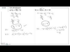 Genomgång av Matematik 5000 Ma 2c   Kapitel 1   Ekvationer och omskrivni...