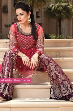 Maria.B Mbroidered Eid Collection 2016-2017 -eFashionstream 14