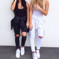 Outfits to try out for the day! Daily Fashion tips for women Diesel Punk, Casual Outfits, Cute Outfits, Fashion Outfits, Fashion Hair, Summer Outfits, Cyberpunk, Rockabilly, Grunge