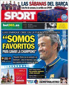 Portada Sport 16/09/2015