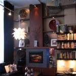 Fireplace/media storage/shelving from IKEA Kitchen