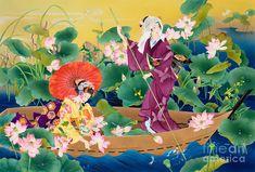 Японская художница Haruyo Morita. Японские фантазии...В мире гейши . Обсуждение…