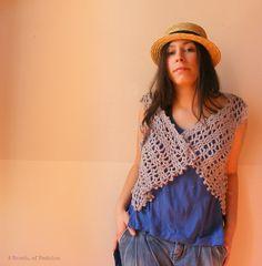 Regalo de Pascua para mujeres Crochet chaleco por aBanchOfFashion, $68,00