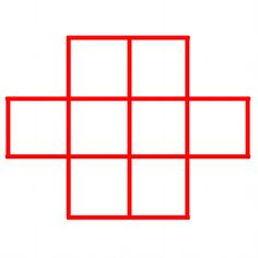 Can you place 1 to 8 in this grid, so that consecutive numbers are not next to each other?