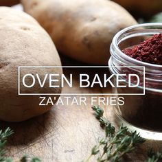 This is an easy and healthy recipe for oven baked French fries seasoned with za'atar spices and a touch of olive oil. This is an easy and healthy recipe for oven baked French fries seasoned with za'atar spices and a touch of olive oil. Weight Loss Snacks, Healthy Recipes For Weight Loss, Healthy Snacks, Healthy Weight, Dinner Healthy, Oven Recipes, Snack Recipes, Dinner Recipes, Oven Baked French Fries