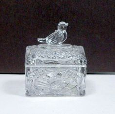 Jewelry Box Trinket Box Ring Box Lead Crystal by CollectMemories