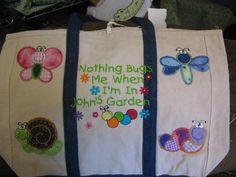 Cute Bugs Applique Machine Embroidery Designs   Designs by JuJu