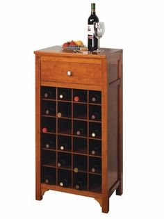 Henric Solid Wood Wine Rack Console With 2 Drawers In Dark Brown Racks For Small Es Pinterest The O Jays And