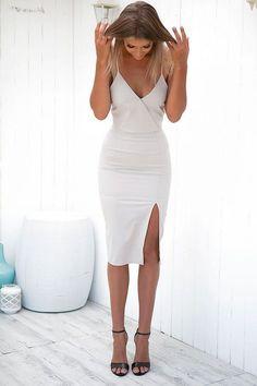 Mermaid V-Neck Homecoming Dress,Spaghetti Sleeveless Party Dress