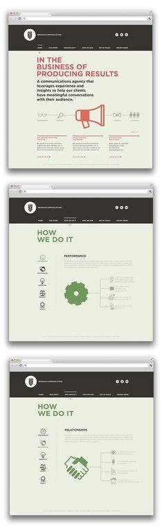 Branigan Communications - Camilo - web Design & Illustration