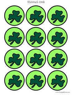 Make your own shamrock cards -  -  Pinned by @PediaStaff – Please Visit http://ht.ly/63sNt for all our pediatric therapy pins