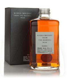 """Nikka Whisky From The Barrel -- Nose: Medium-body with good balance. There are notes of cut flowers and fresh fruits, spice and a little oak. Palate: Full-bodied and punchy. There is plenty of winter spice and toffee, a little caramel and vanilla and a good mouthful of fruit. Finish: Long, warming and fruity with a little oaken spice. Overall: An incredible blend from Nikka, so much power! We can't recommend this enough."""""""