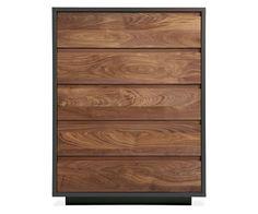 Room & Board - Mason 36w 47h Five-Drawer Dresser