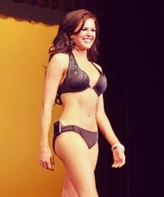 Miss Idaho Walks The Stage In A Bikini — With An Insulin Pump @tannj