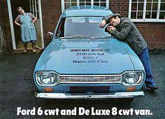 40558de19f Ford Escort Mk1 Van 6cwt   8cwt 1968 UK Market Sales Brochure