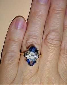 Lehrer Cosmic Obelisk Lapis Lazuli, Sky Blue Topaz & Diamond 10K Gold Ring 7 | eBay 10k Gold Ring, Blue Topaz Diamond, Yellow Gold Rings, Lapis Lazuli, Natural Diamonds, Cosmic, Sky, Heaven