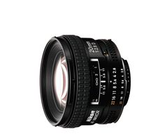 Nikon AF NIKKOR 20mm f/2.8D Fast f/2.8 ultra-wide-angle prime lens with manual aperture control. With a dynamic wide-angle perspective and great depth of field, the AF NIKKOR 20mm f/2.8D gives you edg