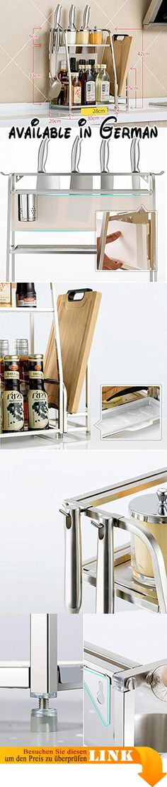 B078TVXV1B  Küche Lagerung und Organisation Küche Regal - gewürzregale für küchenschränke