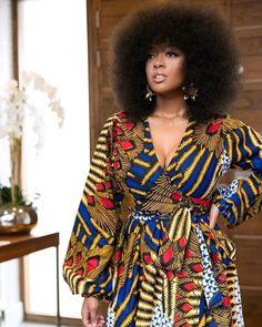 African Print Toumi Maxi Dress by grass-fields - Long dresses - Afrikrea African Maxi Dresses, Latest African Fashion Dresses, African Dresses For Women, Ankara Dress, African Attire, African Wear, African Women, Long Dresses, African Print Clothing