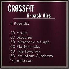 6 pack crossfit Abs!