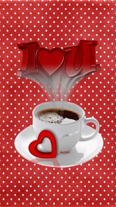I Love You Coffee Animation