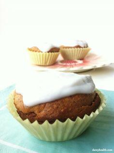 Gluten-free & high in fiber- Pineapple Coconut Muffins!
