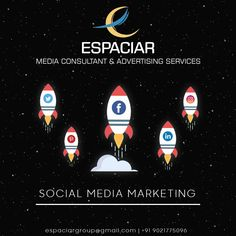 Grow brand awareness, engagement & traffic with our Social Media Marketing Services. . . Call us @9021775096 for more info. #socialmediamarketing #socialmedia #smm #digitalmarketing #engagements #onlinepromotion #traffic #brandawareness #punekars #puneri #Espaciar Pune, Maharashtra Social Media Marketing, Digital Marketing, Pune, Engagements, Engagement