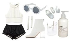 """""""Crystal"""" by v4ndaleyes ❤ liked on Polyvore featuring Cheap Monday, Maison Margiela, A.J. Morgan, Alexander Wang, Le Labo and STELLA McCARTNEY"""