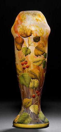 Yet another gorgeous Daum vase