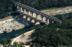 ✈️ Photo aérienne de Pont du Gard - Gard (30)