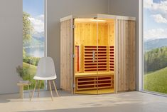 Sauna, Divider, Cabin, Room, Furniture, Home Decor, Heating Systems, Types Of Wood, Benefits Of